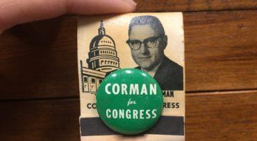 James C. Corman Congressional Matchbook