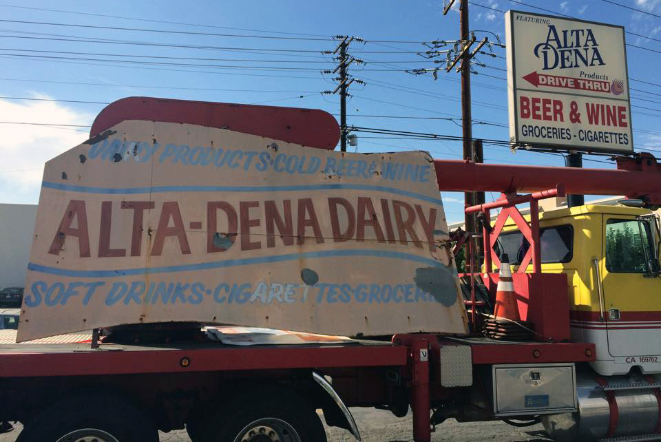 ALTA DENA BURBANK SIGN RESCUE 2014