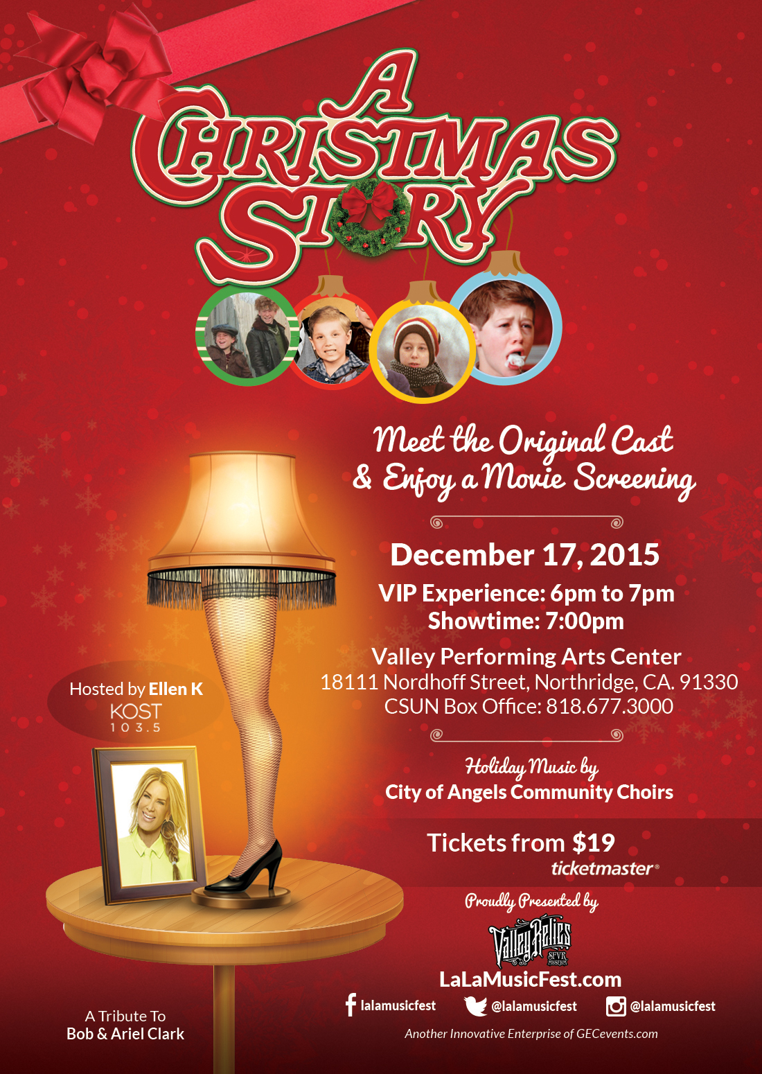 valley relics museum presents a christmas story - The Christmas Box Cast