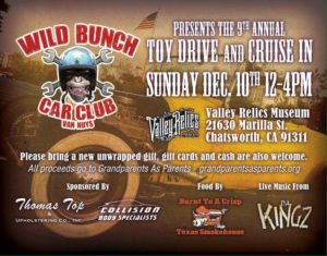 The 9th Annual Toy Drive and Cruise