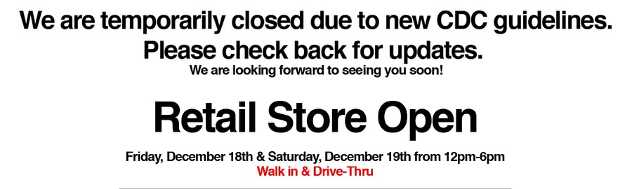 Valley Relics Museum Retail Store Open December 18 & 19th 12pm-6pm