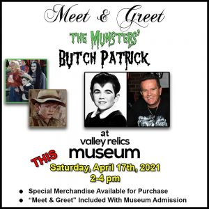 Meet & Greet with The Munsters's Butch Patrick