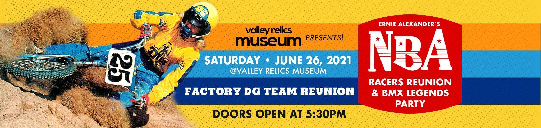 The 2021 NBA Racers Reunion & BMX Legends Party